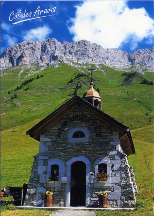 Haute-Savoie-Col-des-Aravis-chapelle 01