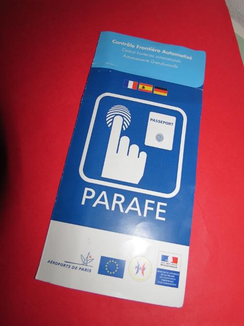 Une brochure de Parafe !