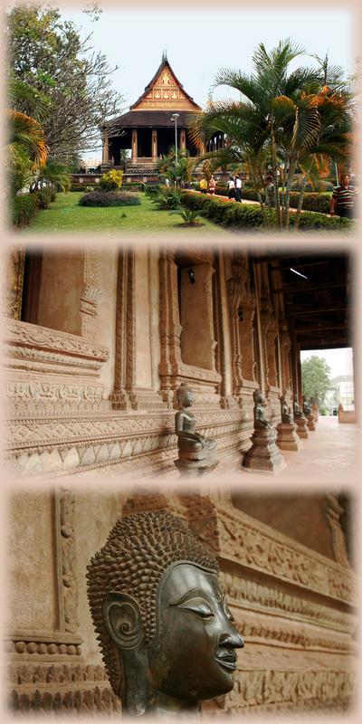 Blog de images-du-pays-des-ours :Images du Pays des Ours (et d'ailleurs ...), Vat Ho Pra Keo - Vientiane - Laos