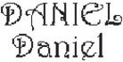 Dictons de la St Daniel + grille prénom !