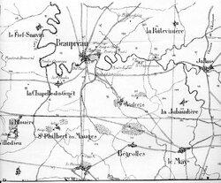 La Baïonnette royale N° 3, François Rivereau, de Chaudron-en-Mauges....