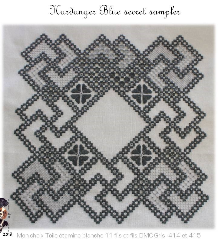 The Blue Secret Hardanger Sampler (8 et plus)