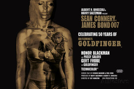 James Bond - Goldfinger 50th anniversary Affiche