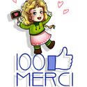 100 J'aime la page Facebook