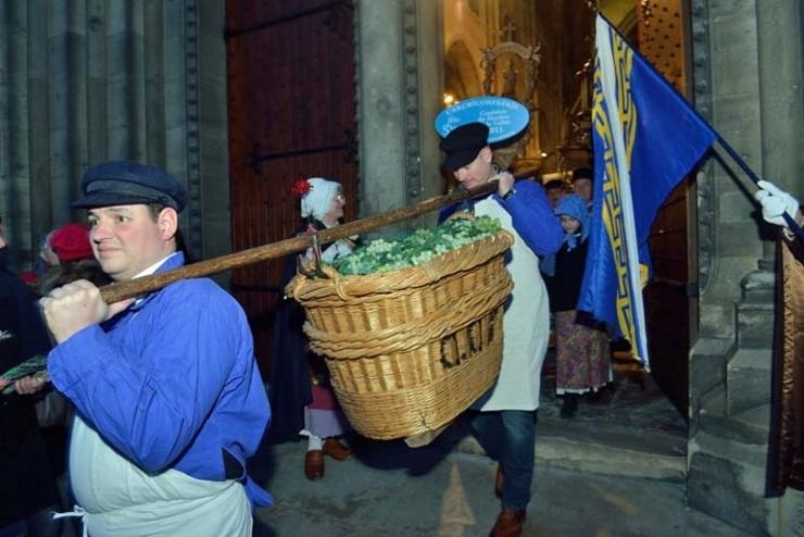 La Saint Vincent confrèrie de vignerons de champagne !