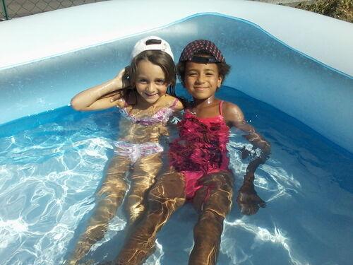la piscine c'est trop géniale!!!!