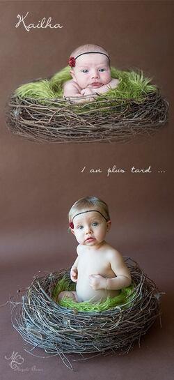 A fleur de peau... de bébés