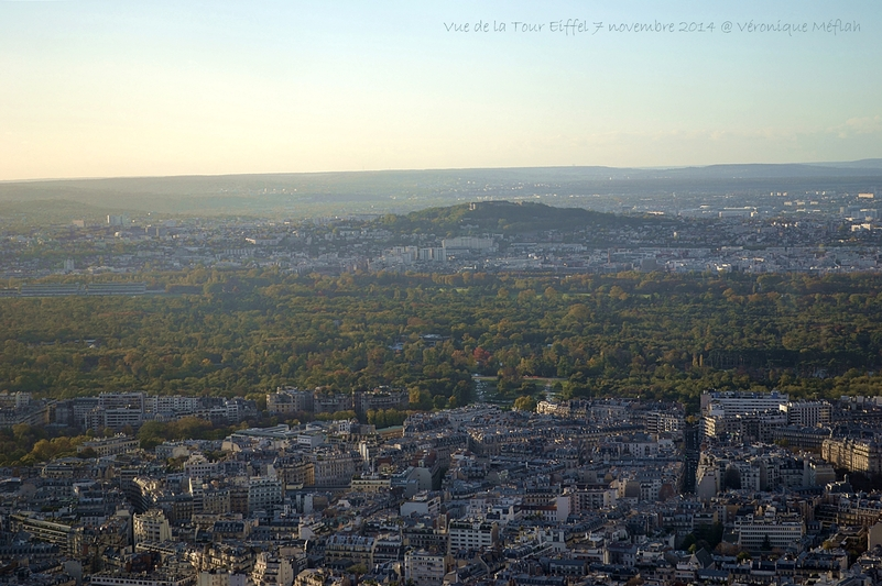 Vues de Paris du 3ème étage de la Tour Eiffel