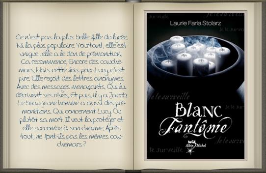 « Bleu cauchemar : tome 2 » de Laurie Faria Stolarz.