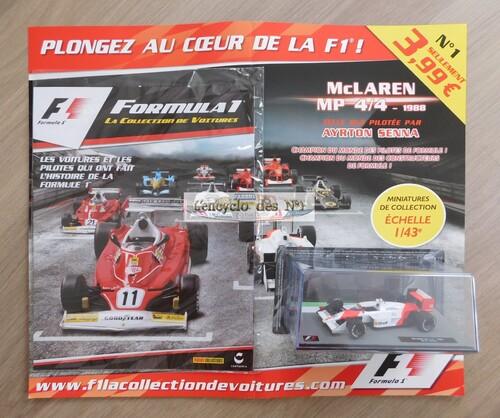 N° 1 Formula 1 la collection de voitures - Lancement