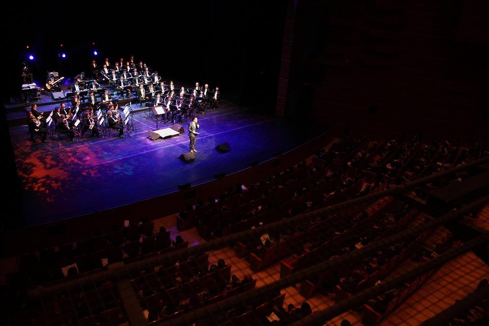 Ensemble, Musique, Joué, Saxophone, Big Band, Orchestre