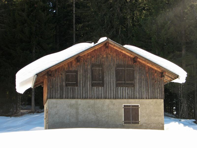 Petits chalets de Haute-Savoie
