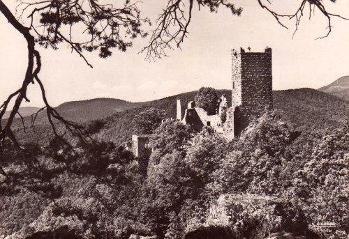 Ruines du château de Saint-Ulrich, à Ribeauvillé