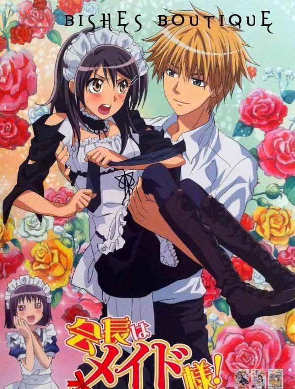 Tags: Anime, Kaichou wa Maid-sama!, Ayuzawa Misaki, Usui Takumi