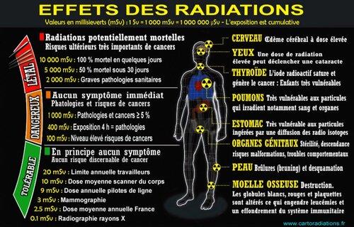 """Carte """"La France du nucléaire"""""""