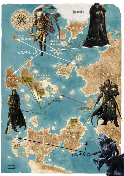 La Dynastie des Elfes noirs d'Hadrien & Ma Yi - Elfes, tome 5