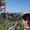 Croix grecque à bouts pattés gravée au sommet de Zizkuitz ou Zizkuitza (702 m)