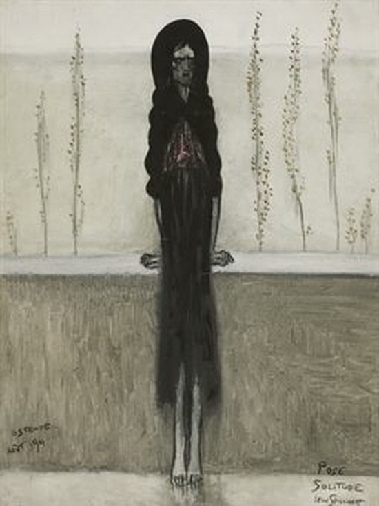 Léon Spilliaert, Pose, solitude