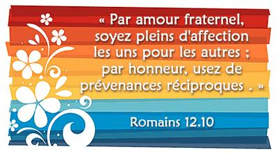 Calendrier Biblique - Vivre l'amour de Dieu (4)
