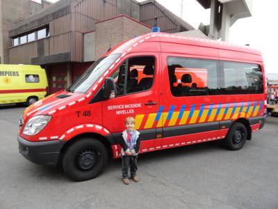Blog de melimelodesptitsblanpain : Méli Mélo des p'tits Blanpain!, Portes-ouvertes chez les pompiers!