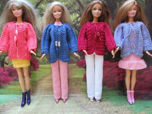 Gilets pour barbie