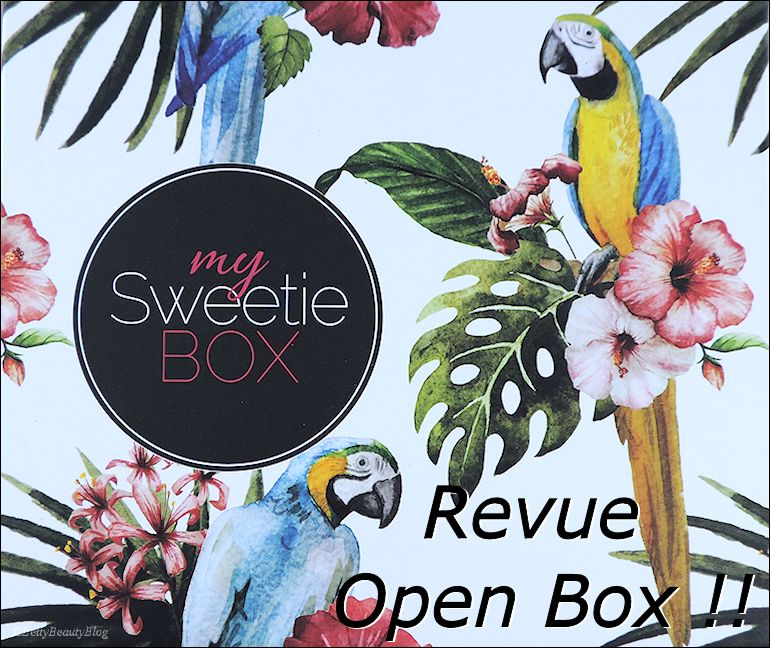 My sweety box Sound of beauty (vidéo + article)