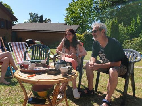 Journée entre amis à Saint-Sauveur-Lès-Bray (Seine et Marne)