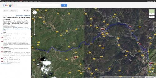 Les GR: Chemins de Grandes Randonnées