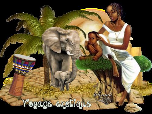 """Défi Fée capucine """"Voyage exotique"""""""