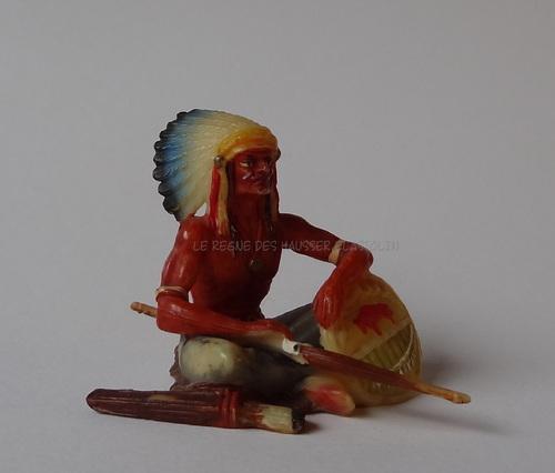 Réf: 6869 Les Chefs Indiens 1ère peinture