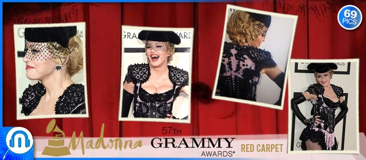 pack_pics - Madonna Grammy Awards Red Carpet