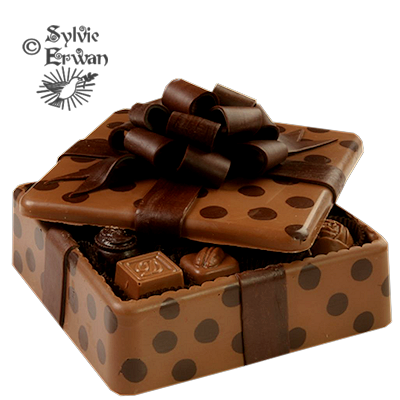 Tubes chocolats création 4