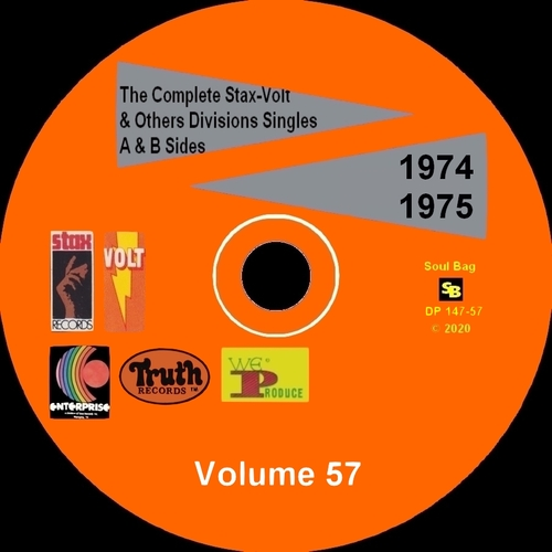 """"""" The Complete Stax-Volt Singles A & B Sides Vol. 57 Stax & Volt Records & Others Divisions """" SB Records DP 147-57 [ FR ]"""
