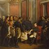 Bouchot-Napoléon signe son abdication à Fontainebleau 4 avril 1814