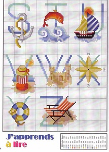 Alphabet de la mer : le Z.