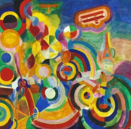 Robert Delaunay - Hommage à L. Blériot