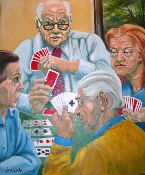 Les joueurs de bridge