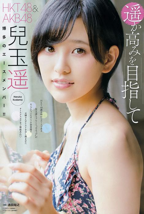Magazine : ( [Young Champion] - 2015 / N°17 - Haruka Kodama & Saya Kataoka Staring )
