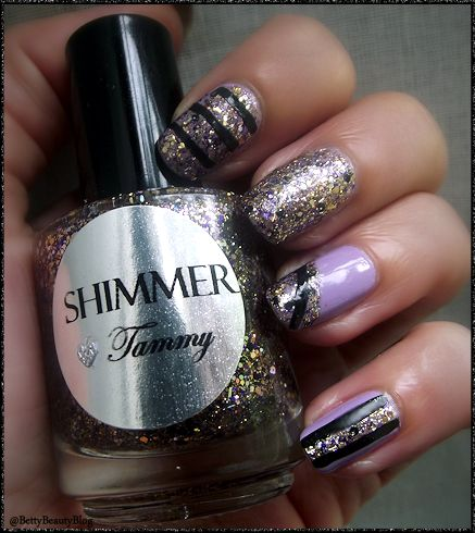 Douce tammy de shimmer polish