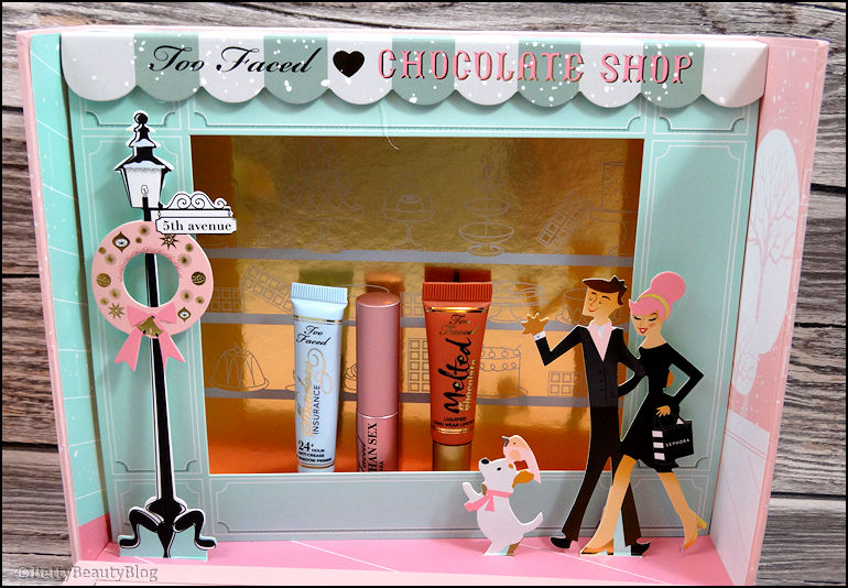 The chocolate shop Too faced #1s1pc