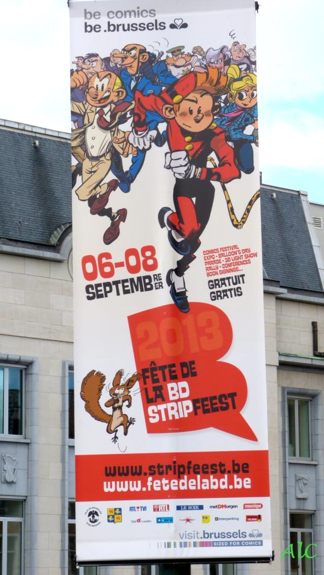 Fête de la BD à Bruxelles