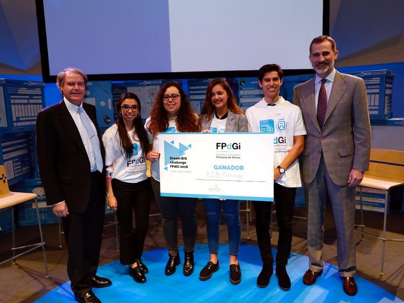 """""""Premio Fundación Princesa de Girona 2018"""""""