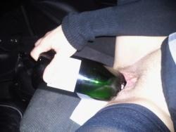 Séance au champagne - suite encore