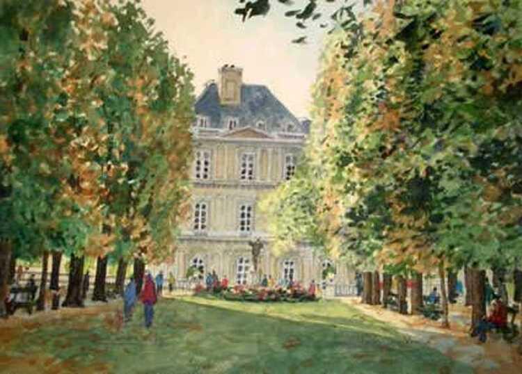 Jean Charles Decoudun. Le Jardin du Luxembourg.
