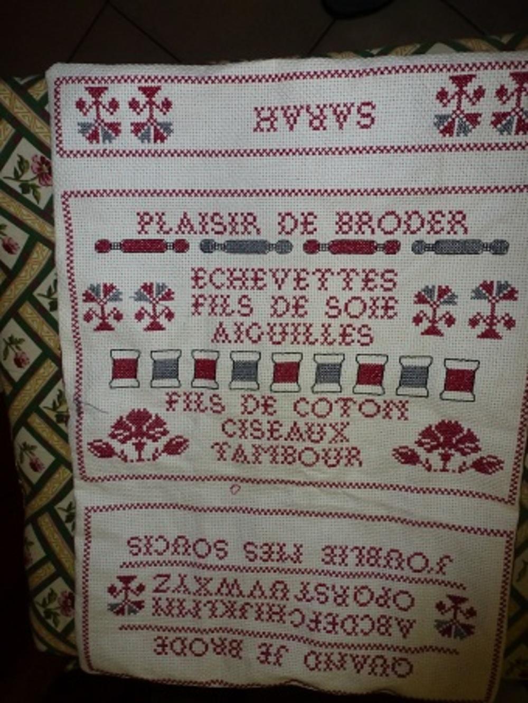Pochette de brodeuse
