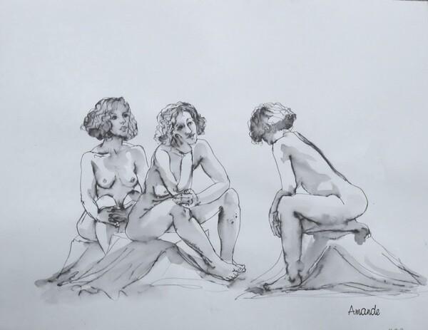 Dimanche - A trois