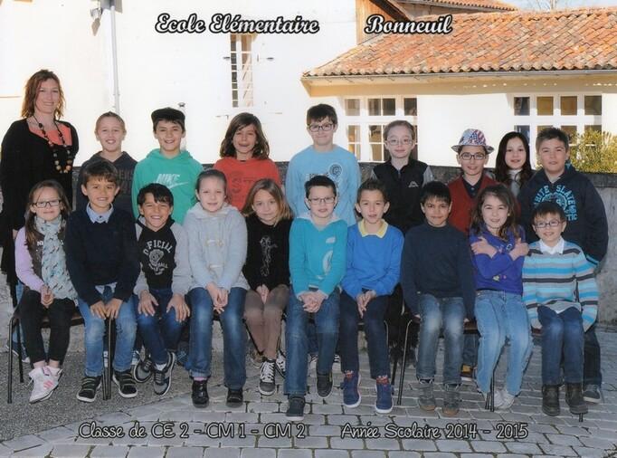 Ecole de Bouteville - Angeac-Charente - Bonneuil .