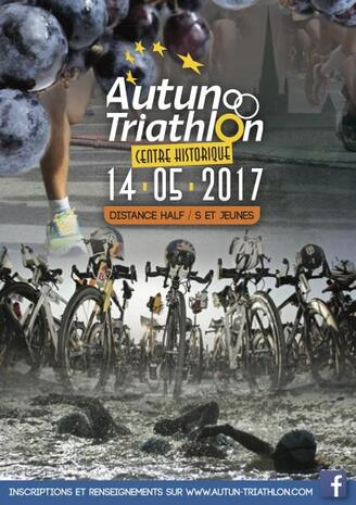 Triathlon d'AUTUN 13/14 mai 2017