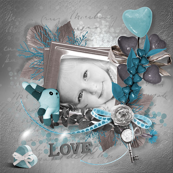 """ Eternal Blue"" de Lia Scrap"