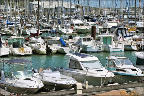 Port Bourgenay à Talmont-Saint-Hilaire (Vendée)